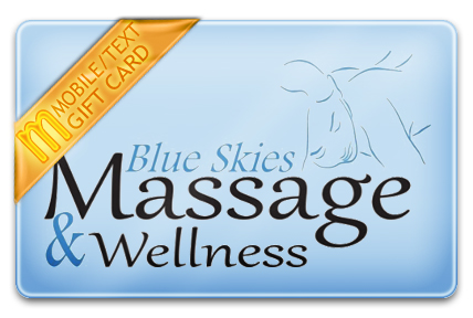 Blue Skies Massage M-Gift Card